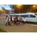 locação de limousine de festa em SP preço na Vila Facchini