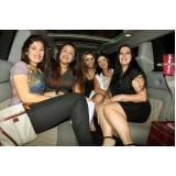 locação de limousine festa preço Jardim Rosana