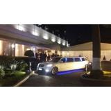 Locação de limousine luxuosa onde contratar no Jardim Ubirajara