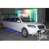 Locação de limousine luxuosa onde encontrar no Jardim Santa Branca