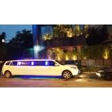 Locação de limousine luxuosa onde localizar na Vila Guaianases