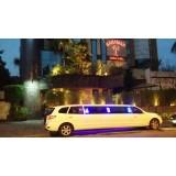 Locação de limousine luxuosa valor acessível na Vila Cardoso Franco