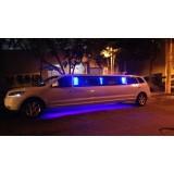 Locação de limousine luxuosa valor em Tarumã