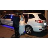 Locação de limousine para casamento onde localizar em São Roque