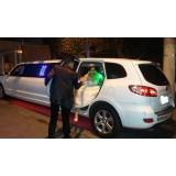 Locação de limousine para casamento preço acessível no Jardim Samara
