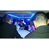 Locação de limousine para casamento quanto custa no Jardim Flávio