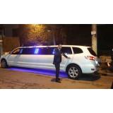 Locação de limousine para casamento valor em Bauru