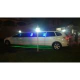 Locação de limousines melhor preço na Barra de São Francisco