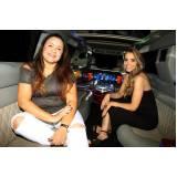 locação de limousines preço Jardim Laranjal