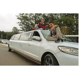 locação de limousines preço Jardim Santo André