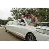 locação de limousines preço Santa Etelvina