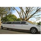 locação de limousines preço Vila Mazzei