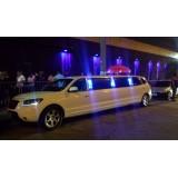 Onde alugar limousine para eventos em Tapiraí
