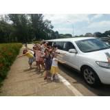 onde alugar limousine rosa para festa infantil na Vila Bela Vista
