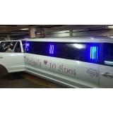Onde localizar limousine para eventos no Jardim Botucatu