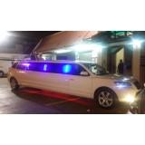 Preço acessível da locação de limousine na Vila Carmem