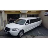Preço acessível no aluguel limousine para casamento na São João