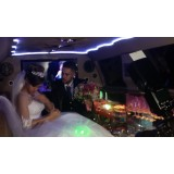 Preço do aluguel limousine para casamento em Areião