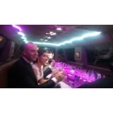 Preço do aluguel limousine para casamento na Granja Viana
