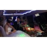 Preço do aluguel limousine para casamento no Jardim Casa Blanca