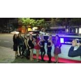 Preço limousine para eventos no Jardim Samambaia