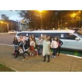 quanto custa alugar limousine para festa na Vila Almeida