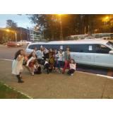 quanto custa aluguel de limousine para festa infantil em SP  no Jardim Eledy