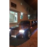 Quanto custa limousine para eventos na Vila Carbone