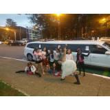 quanto custa limousine para festa de aluguel na Chácara Santo Antônio