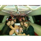 quanto custa limousine para festa em SP na Vila Matias