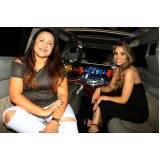 quanto custa locação de limousine de festa Bragança Paulista