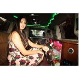 quanto custa locação de limousine de festa Santa Adélia