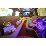quanto custa locação de limousine de festa Vila Palmira
