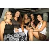 quanto custa locação de limousine festa Santo André