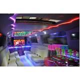 quanto custa locação de limousine para casamentos Vila Orlando