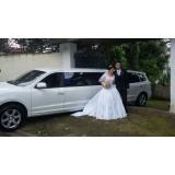 Quanto custa o aluguel limousine para casamento na Vila da Paz