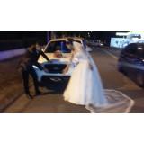 Serviço de limousine para casamento na Chácara Monte Sol