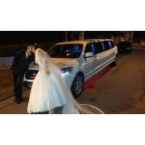 Serviço de limousine para casamento onde contratar na Chácara do Encosto