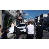 Serviço de limousine para casamento preço acessível em São José da Bela Vista