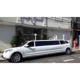 Serviço de limousine para casamento preço  em Mirandópolis