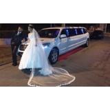 Serviço de limousine para casamento quanto custa na Chácara Flórida