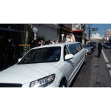 Serviço de limousine para casamento quanto custa na Vila Nova Savoia
