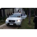 Serviço de limousine para casamento quanto custa  no Jabaquara