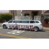 Valor acessível em limousine para eventos na Vila Isolina Mazzei