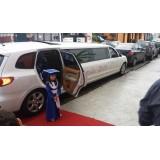 Valor da limousine de luxo na Vila Solange