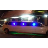 Valor da locação de limousine na Vila Triângulo