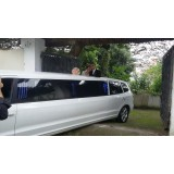 Valor do aluguel limousine para casamento em Pedrinhas Paulista