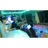 Valor do aluguel limousine para casamento na Cidade Universitária
