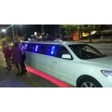 Valor limousine para eventos no Conjunto Residencial Vila Sabará