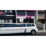 Valor limousine para eventos no Parque Pedroso